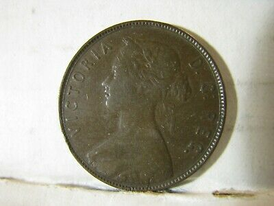 1876 H. Canada, Newfoundland. One Cent Piece.