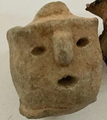 Ancient Mayan or Other Idol Head