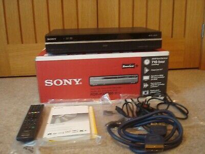 Sony RDR-HXD995 250 GB HDD/DVD+Freeview Recorder