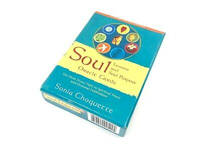 Soul Lessons And Soul Purpose Oracle Cards - Sonia Choquette