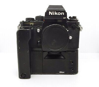 Nikon F3 HP (High Point) 35mm SLR Film Camera with MD4 Motor Drive