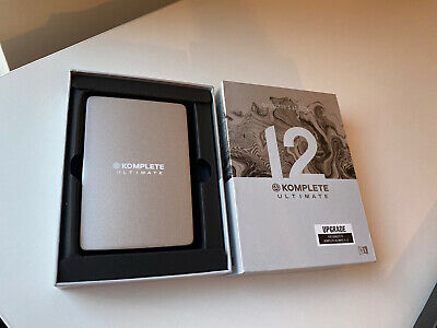 Native Instruments Komplete 12 Ultimate Collectors Edition 1TB Hard Drive Only