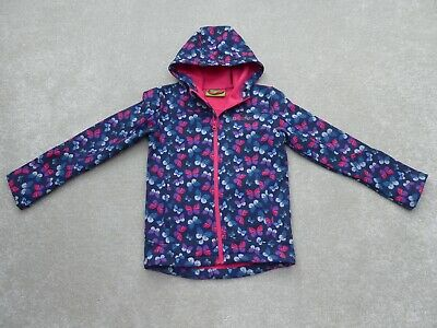 Mountain Warehouse Butterfly Softshell Jacket Size 9-10 Years Ex Condition