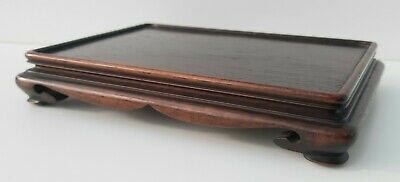 Antique/vintage Chinese hardwood stand, square stand, wood, oriental