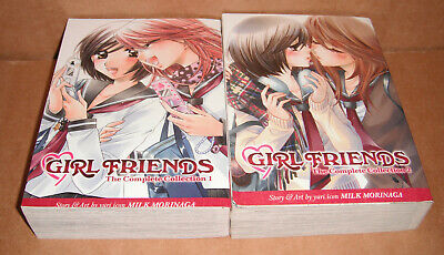 Girl Friends Omnibus Collection 1 & 2 Manga Graphic Novels English