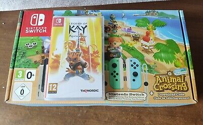 Nintendo Switch Animal Crossing: New Horizons special edition console with Game
