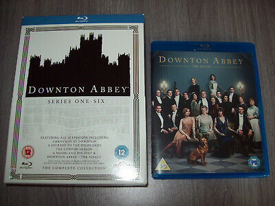Downton Abbey The Complete Series + The Movie (Blu-ray)
