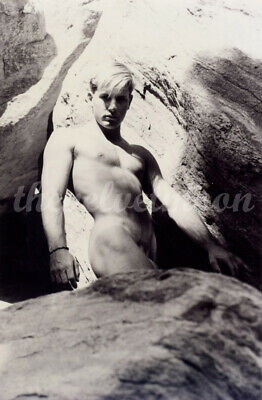 Vintage Male Nude - 2 for 1 Michael Kilgore Muscular Figure Studies by Waterfall