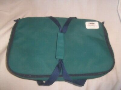 PYREX PORTABLES BAG THE WAY TO GO GREEN GLASS 16 x 11 TRAY INSULATED CARRY BAG