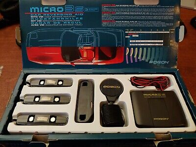 Poron Micro 3s Car Reversing Aid with Voice Distance Indicator - New