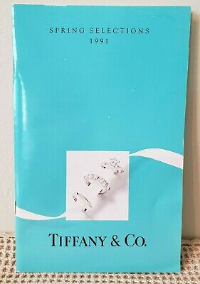 Vintage TIFFANY & CO. SPRING SELECTIONS 1991 CATALOG / BROCHURE