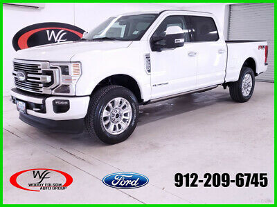 2020 Ford F-250 Limited 2020 Limited New Turbo 6.7L V8 32V Automatic 4WD Pickup Truck Moonroof Premium
