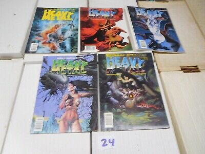 Heavy Metal Magazine Year 20 January March May July Sept 1996 Lot 24