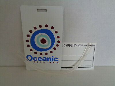 Oceanic Airlines Luggage Tags (Lost) - 2007 ComicCon Int'l (San Diego) Promo (2)
