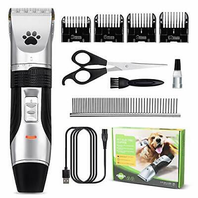 Pet Grooming Clippers, Focuspet 2 Speed Adjustable Dog Clippers Rechargeable