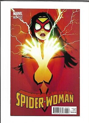 Spider Woman # 3 1:25 Scott Forbes Variant RARE VHTF Into the Spider-Verse 2