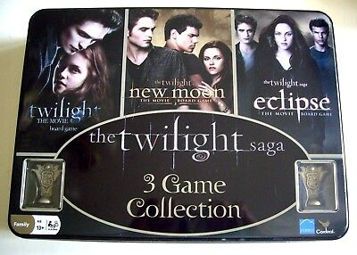 The Twilight Saga 3 Game Collection Unplayed. Has Twilight, New Moon & Eclipse