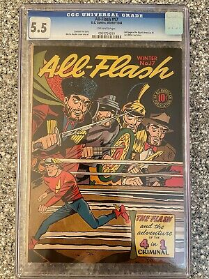 All-Flash #17 Cgc 5.5
