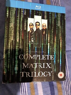 The Complete Matrix Trilogy (Blu-ray Disc, 2008, 3-Disc Set)