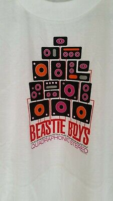 BEASTIE BOYS 1995 Quadrophonic Sound vintage licensed concert baseball shirt XL