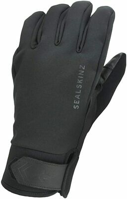 SEALSKINZ Unisex Waterproof All Weather Insulated Glove, Black, Large