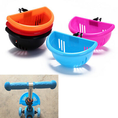 children/'s bike basket plastic bicycle bag kids scooter handle bar basket FJ