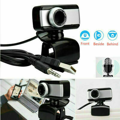 Webcam Con Microfono Usb 2.0 X Pc Videocamera Smart Working Zoom Skype Camera -