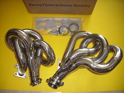 Mercedes W 124 E/TE/CE 300-24 M 104 Engine Stainlees Steel Header New Germany