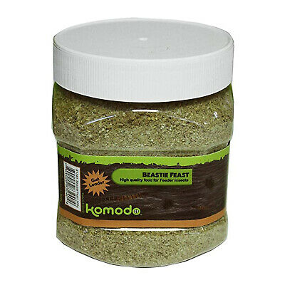 Komodo Beastie Feast High Quality Food for Feeder Insects Cricket Locust 300g