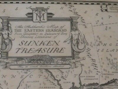 An Authentic Map of The  Eastern Seaboard From Gloucester to Delaware Bay;