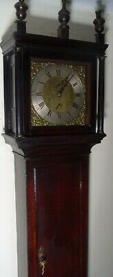 "Antique Oak Brass  Dial ""  Neath  ""   Longcase / Grandfather Clock"