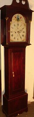 "Antique Mahogany  Automation   ""Preston Peak ""   Longcase / Grandfather Clock"