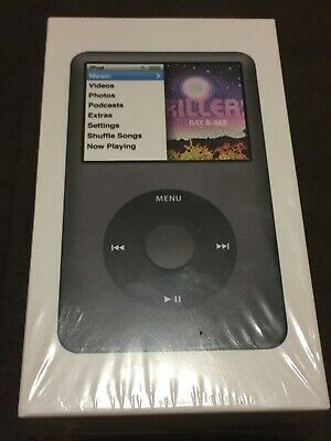 NEW Apple iPod Classic 7th Generation 160 GB Black- Never opened