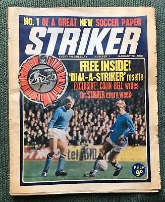 STRIKER MAGAZINE. NUMBER 1.  DATED,10th,JANUARY,1970.