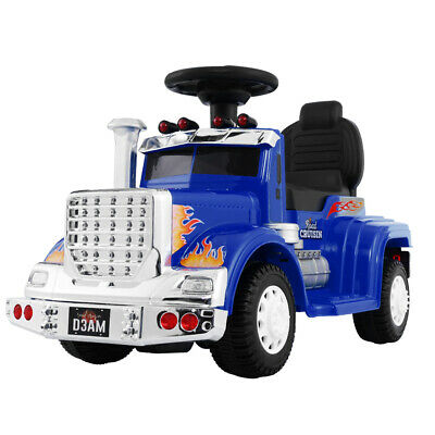 Ride On Cars Kids Electric Toys Car Battery Truck Childrens Motorbike Toy Blue R