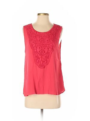 Assorted Brands Women Red Sleeveless Blouse S