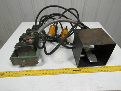 """Air Pneumatic Foot Operated 1/4"""" Cable Crimper 250PSI Max."""