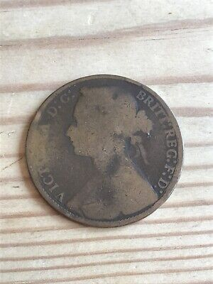 1875 Victoria One Penny
