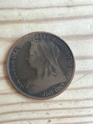 1900 Victoria One Penny