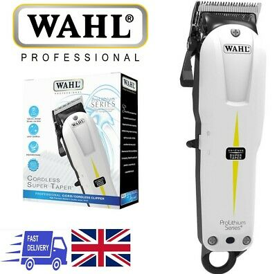 Wahl Cordless Super Taper Hair Clipper - Trimmer with 4 Attachments (BNIB)
