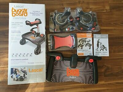 Lascal Buggy Board Maxi Plus and Seat Saddle | Fantastic Condition - Don't Miss!