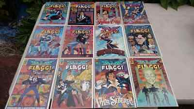 American Flagg! Volume two issues 1 2 3 4 5 6 7 8 9 10 11 12 set run lot of 12