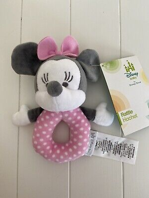 Disney Minnie Mouse Baby Rattle