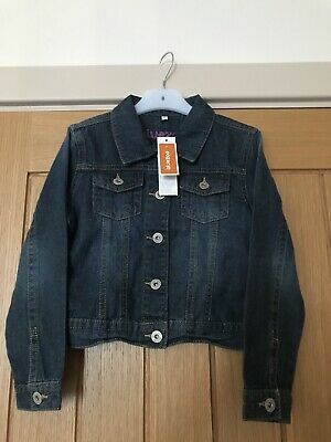 Bluezoo Girls Denim Jacket - Size Age 8