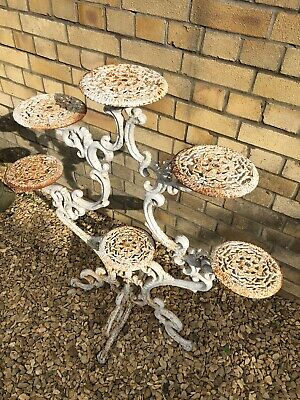 Cast iron plant stand (Coalbrookdale)