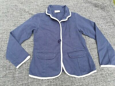 Girls Navy Soft Blazer Millie At BHS Size 9-10 Years
