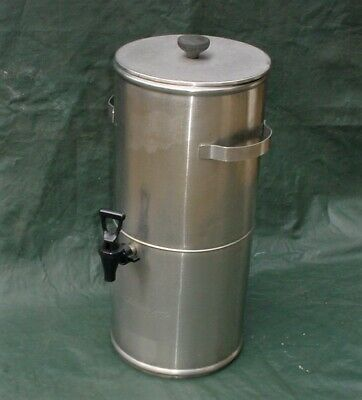 Curtis  Streamliner TC-3H Round Iced Tea Dispenser - 3.0 Gallon  S.Steel NSF