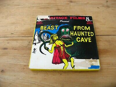Beast From Haunted Cave 8mm cine film HORROR