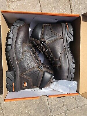 Timberland PRO Men's Helix 6-Inch Non-WP ST Work Boot,Brown,9 M US