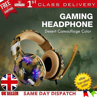 Gaming Headset Kotion G2600 Mic Headphones PC Laptop PS4 Slim Pro Xbox One S X